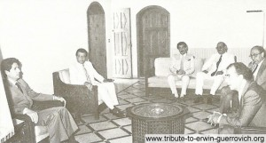 Lebanon Chapter visits President Amin Gemayel in 1984