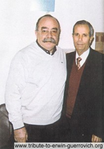 Antoine Aad and lucky old-time friend Mahmoud Nahas