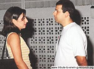Hani Aljamal and a friend