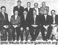 Sur notre photo: MM. Erwin Guerrovich, CEO du groupe, Ramzi Raad, vice-président, directeur général d'Intermarkets-Dubai; les directeurs généraux Joe Ayoub (Liban), Jihad Abbouchi (Arabie Séoudite), Fady Mouannès (Koweit), Bassem Dajani (Jordanie), Makram Zeenny (Syrie), Galal Zaki (Egypte); ainsi que Khalil Bitar, vice-président pour les finances, et Nadim Sfeir, vice-président pour le Proche-Orient et l'Arabie Séoudite.