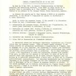 CONSEIL D'ADMINISTRATION DU 10 MAI 1967
